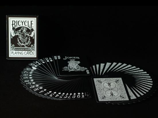 Bicycle Black Tiger